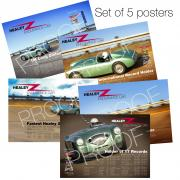 5 Poster set: 594 x 420mm limited edition set of 5 signed photographic quality posters from www.crucialimage.org.uk