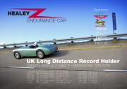 UK Long distance records poster
